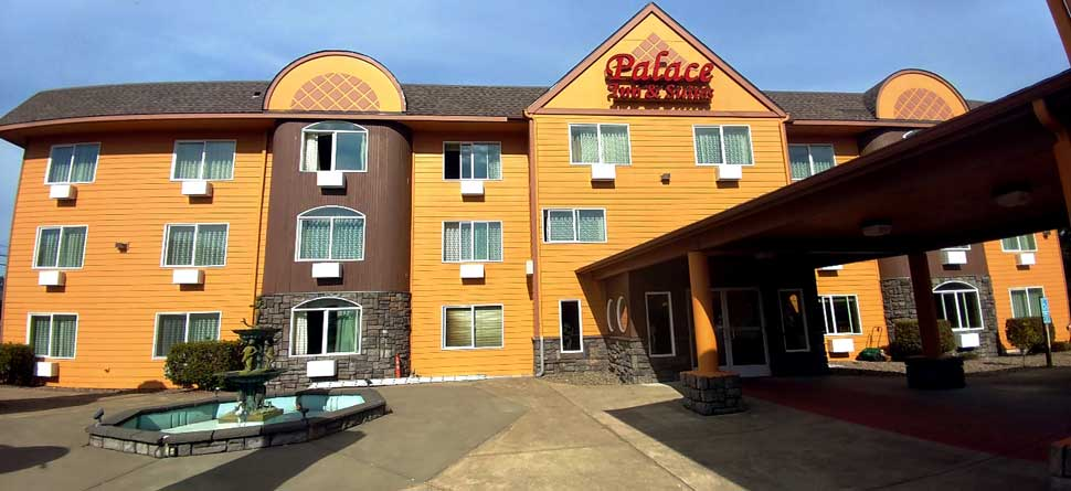 Budget Affordable Cheap Lodging Hotels Motels Palace Inn and Suites